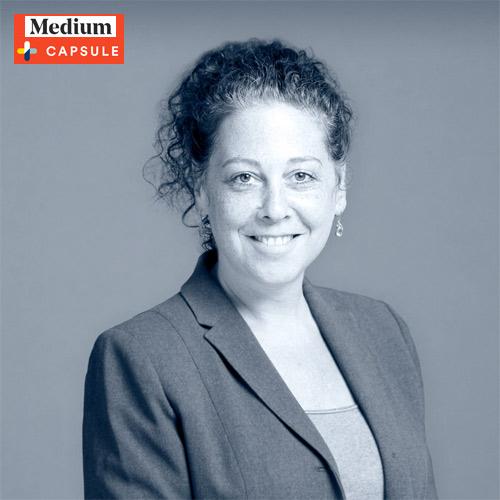 Dr. Audrey Halpern interview on Medium